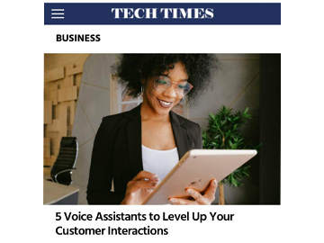5 Voice Assistants to Level Up Your Customer Interactions from TechTime