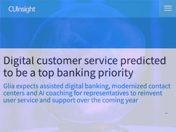 Digital Customer Service Predicted To Be A Top Banking Priority