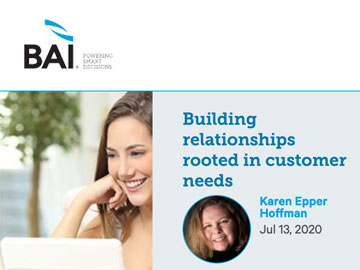 Building relationships rooted in customer needs