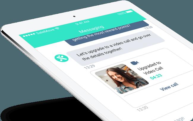 In-App Messaging tablet