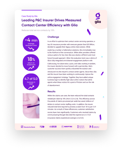 Leading P&C Insurer Case Study