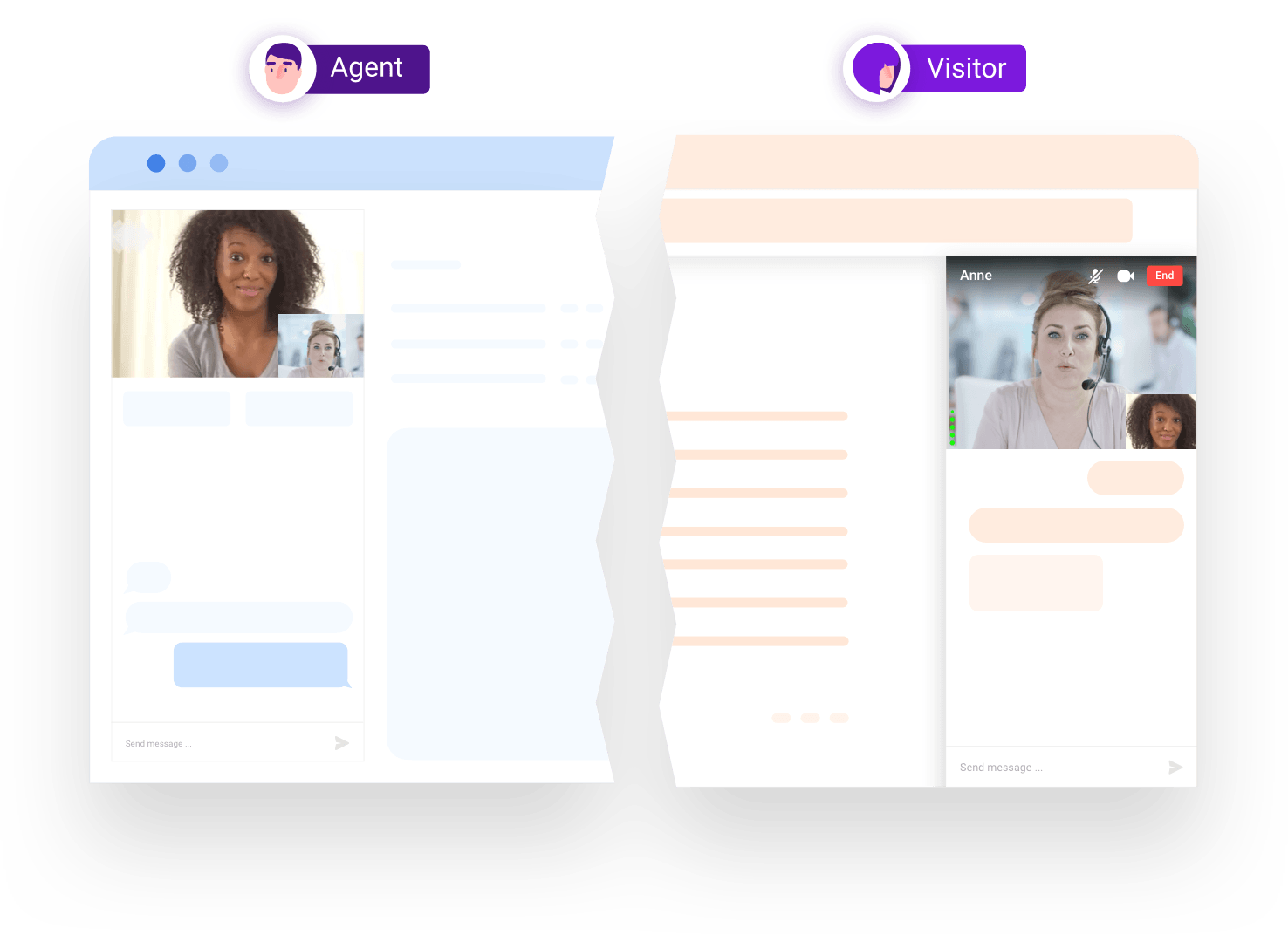 video to video chat