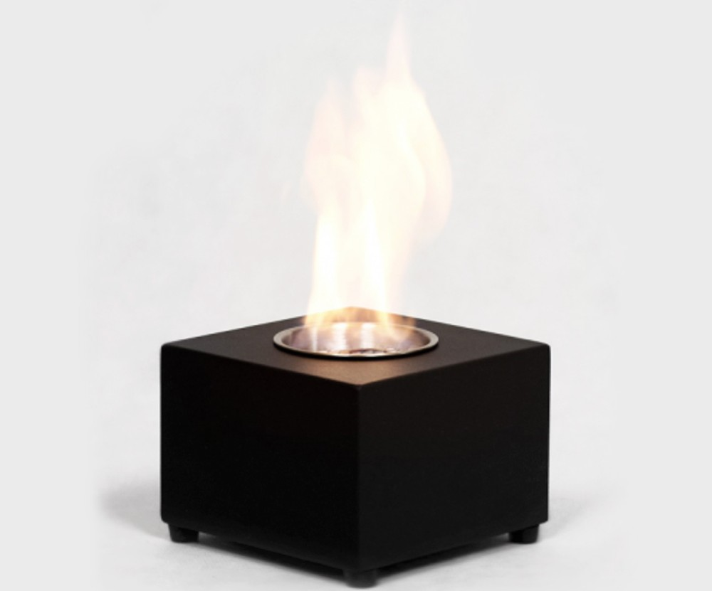 Tabletop Cubic Mini Eco Fire Shop Lightly