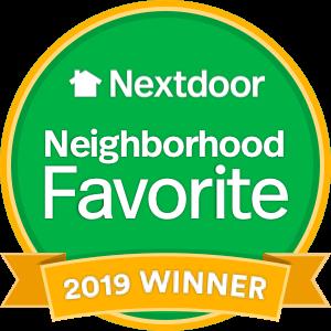 Nextdoor Neighborhood Favorite logo