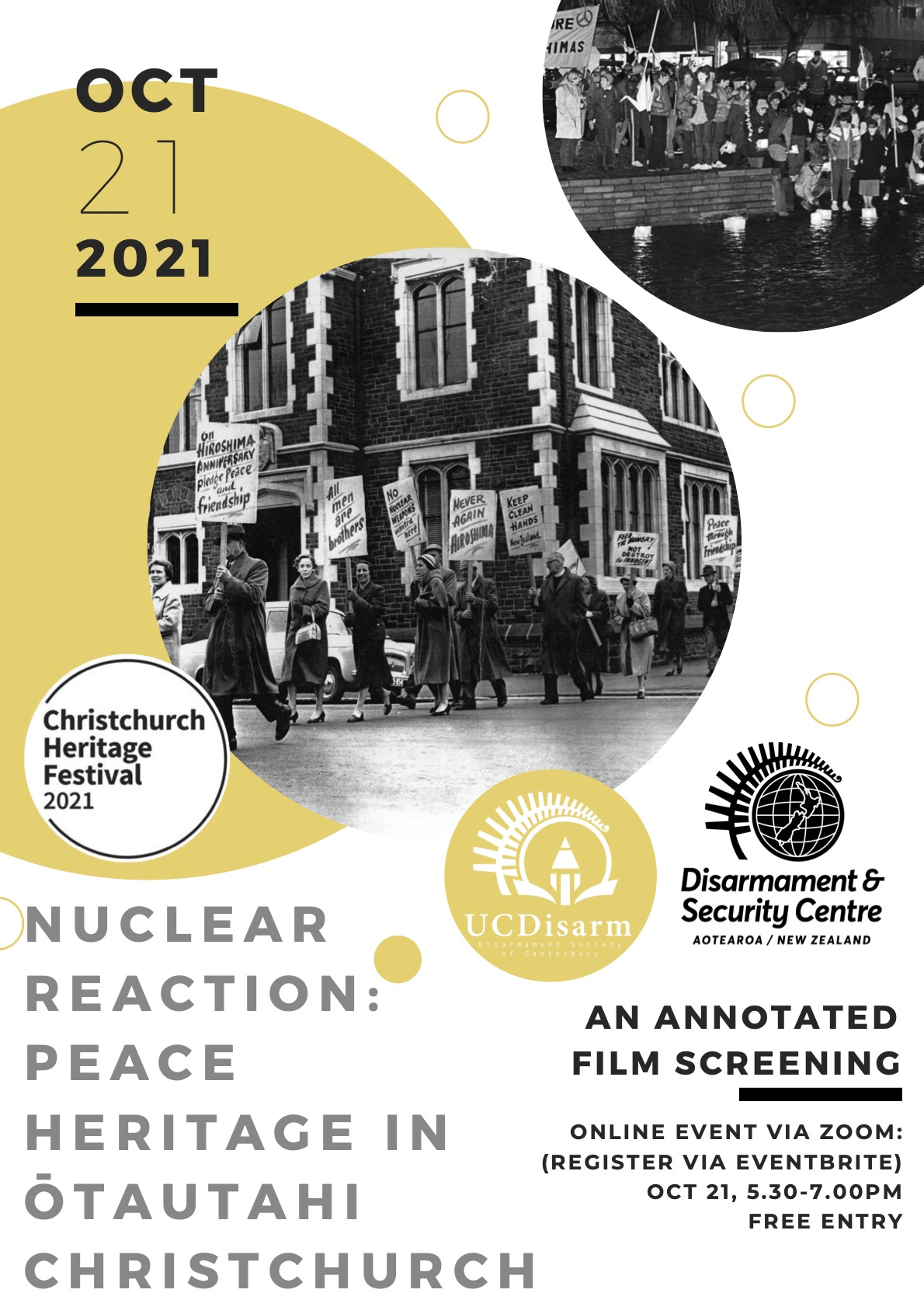 Nuclear Reaction: Peace Heritage in Ōtautahi Christchurch