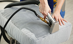 upholstery cleaning by clear water