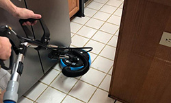 tile & grout cleaning by clear water
