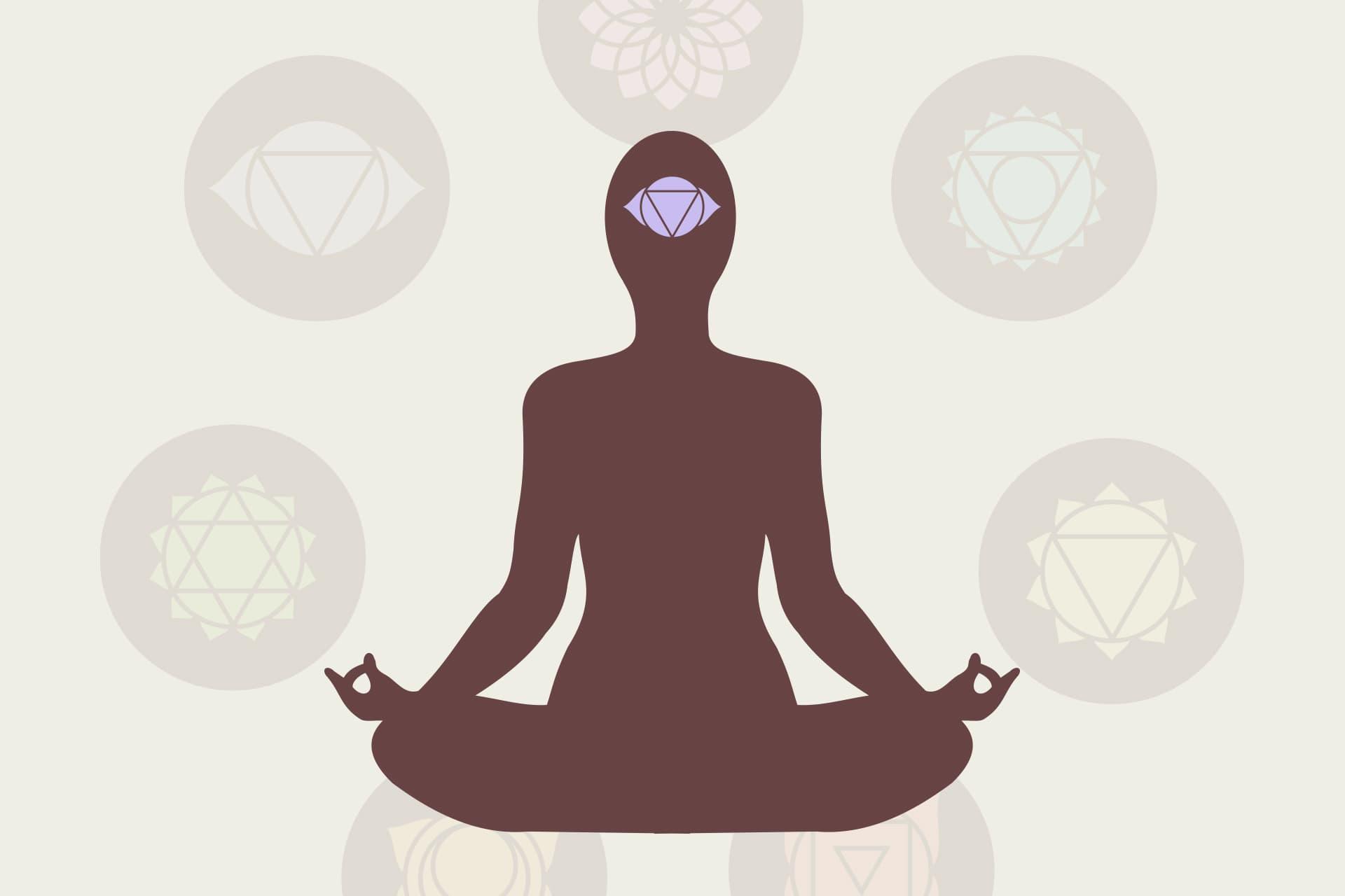 5ème Corps: bouddhique = 6ème Chakra du troisième œil - Institut Aurovida - Lausanne