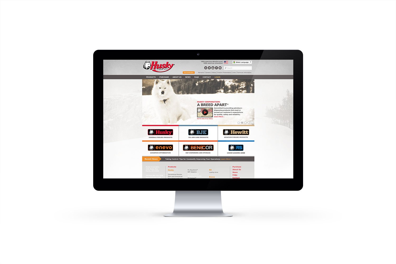 husky website