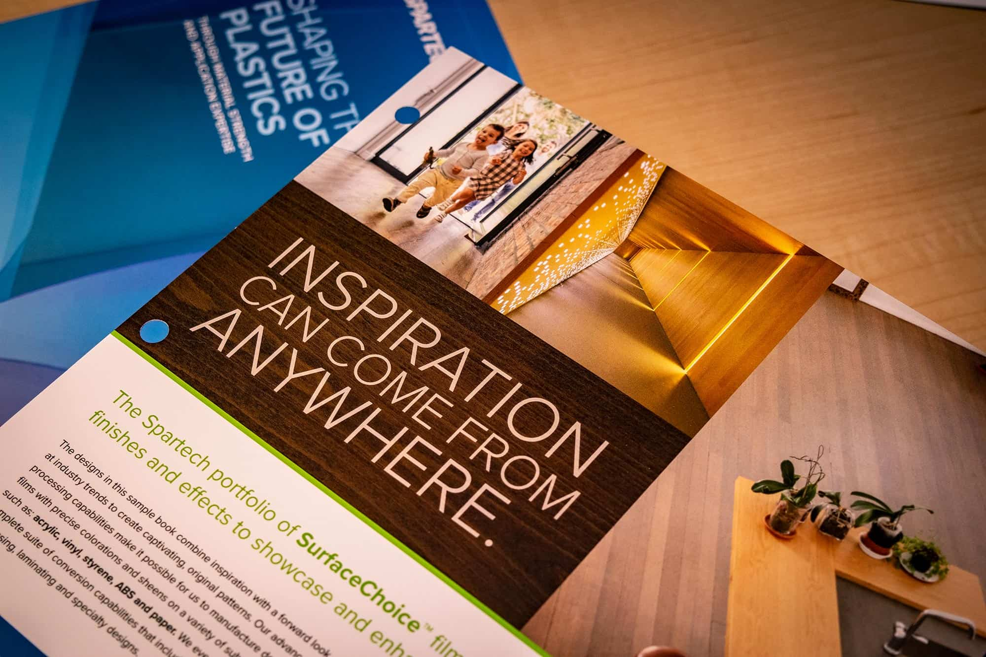 spoke marketing print collateral