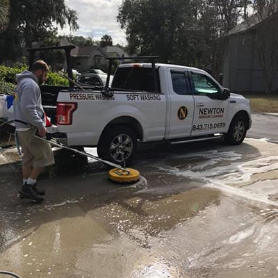 pressure washing in hilton head