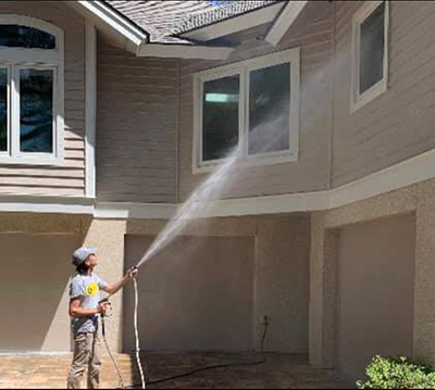 home soft washing project in hilton head sc