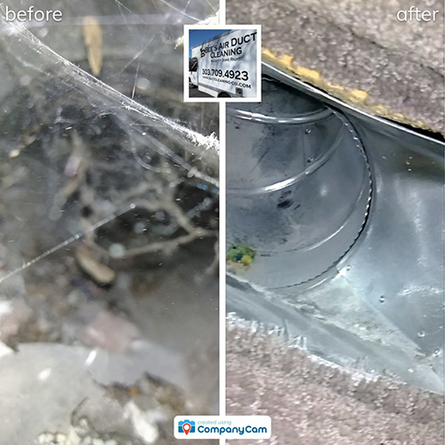air duct cleaning inspection offered for each air duct cleaning project