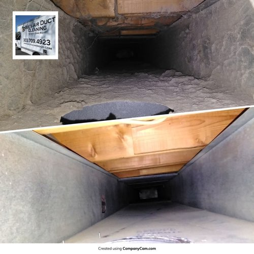 boulder air duct cleaning project
