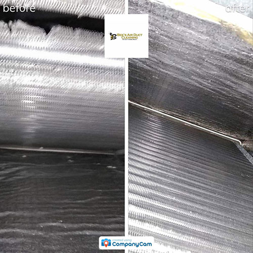 air duct cleaning before and after in a northern colorado home