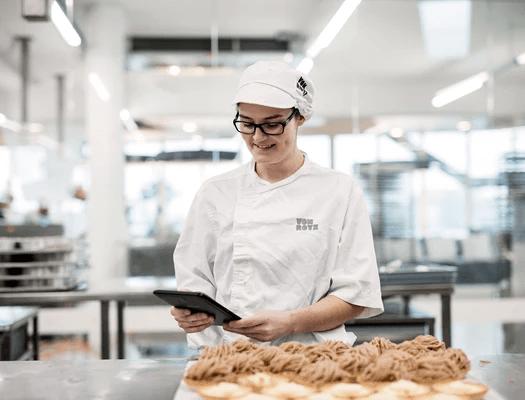 Bäckerei Rezeptverwaltung Mobile App