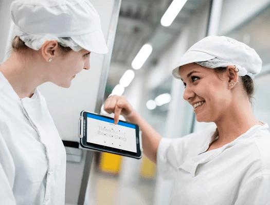 Zeitmanagement für Bäckerei mit Innovative Zeiterfassung Mobile App