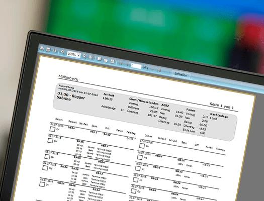 Innovative Zeitmanagement Software - Kontrolle und einfache Bedienung