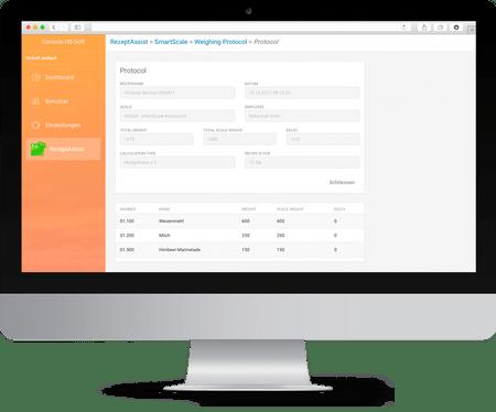 RezeptAssist mobile lässt sich einfach mit Ihrer RezeptAssist Software im Büro verbinden