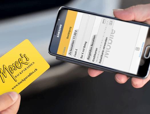 Handy verfügt über den dafür nötigen NFC Leser schneller bezahlen