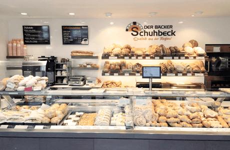 HS-Soft Bäckerei Kassensysteme in jeder Der Bäcker Schuhbeck Filiale