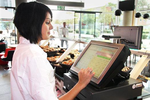 Bäckerei Der Beck Kasse mit Kundenkartesystem CashAssist Card