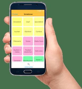 Bäckerei Kassen CashAssist mobile App