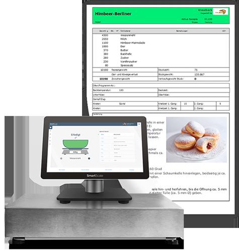 Rezepte, Deklaration und Kalkulation direkt in der Backstube mit Rezept Software