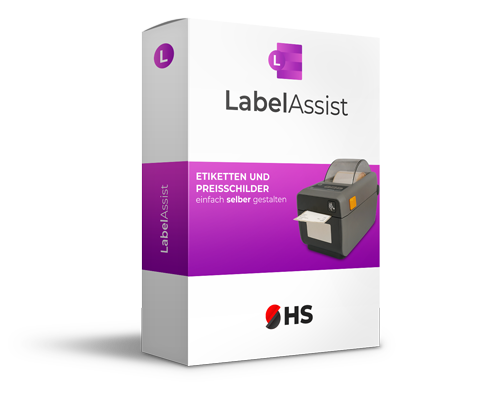 Professionelle Label Software LabelAssist in Action