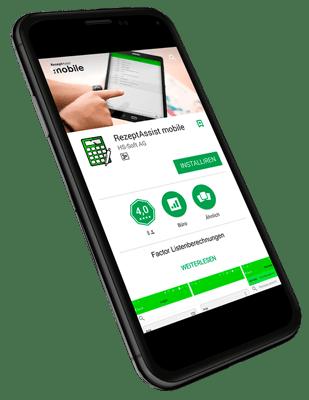 Rezept Assist Smartphone App einrichten