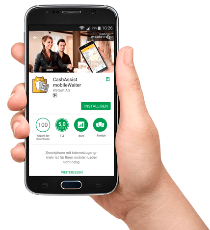 mobileWaiter app herunterladen