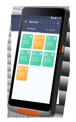 Smartphone App für Bäckerei Bestellungen