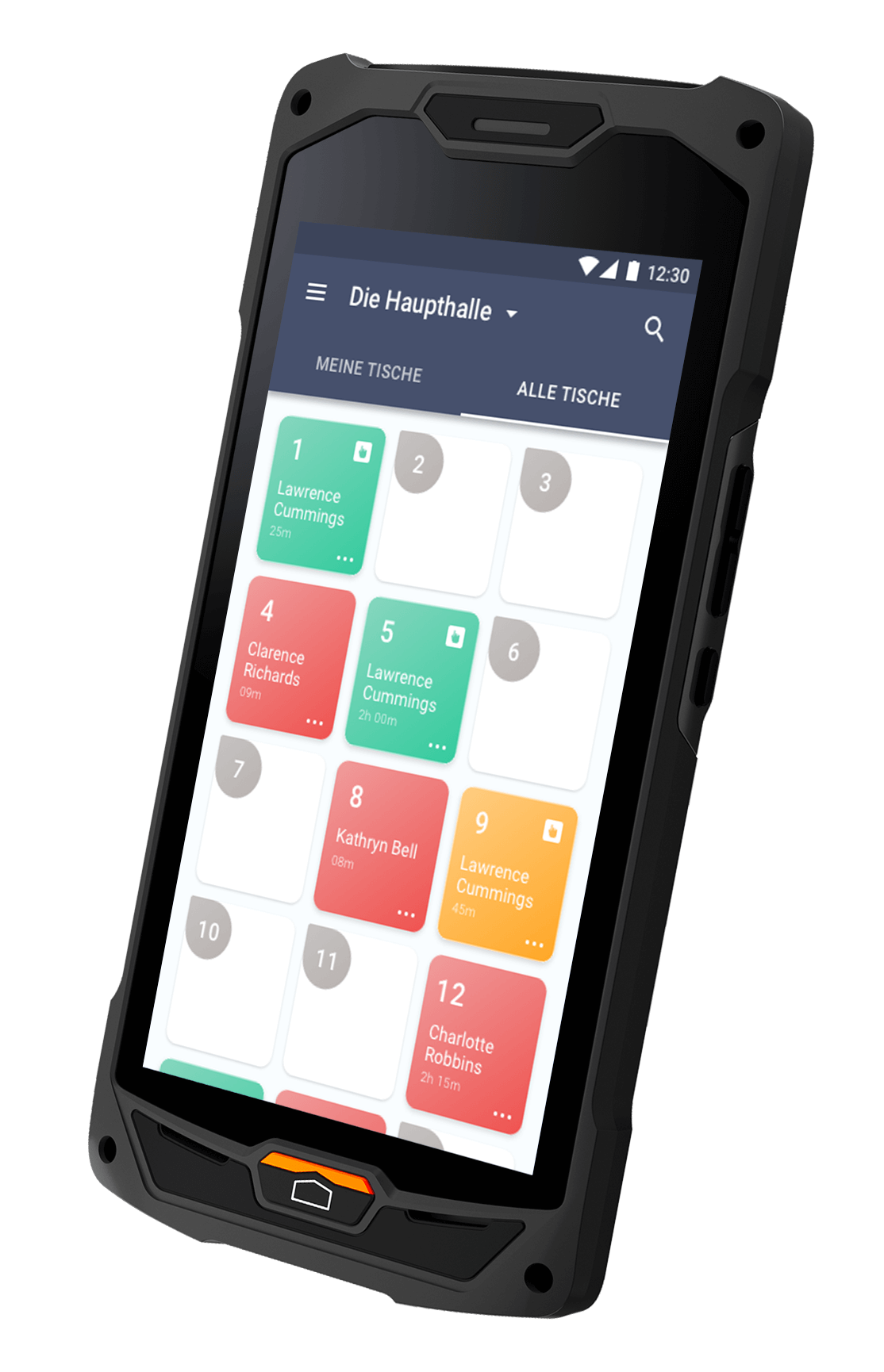 Bäckerei CashAssist mobile Waiter App