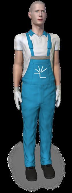 ViveLab 3D human