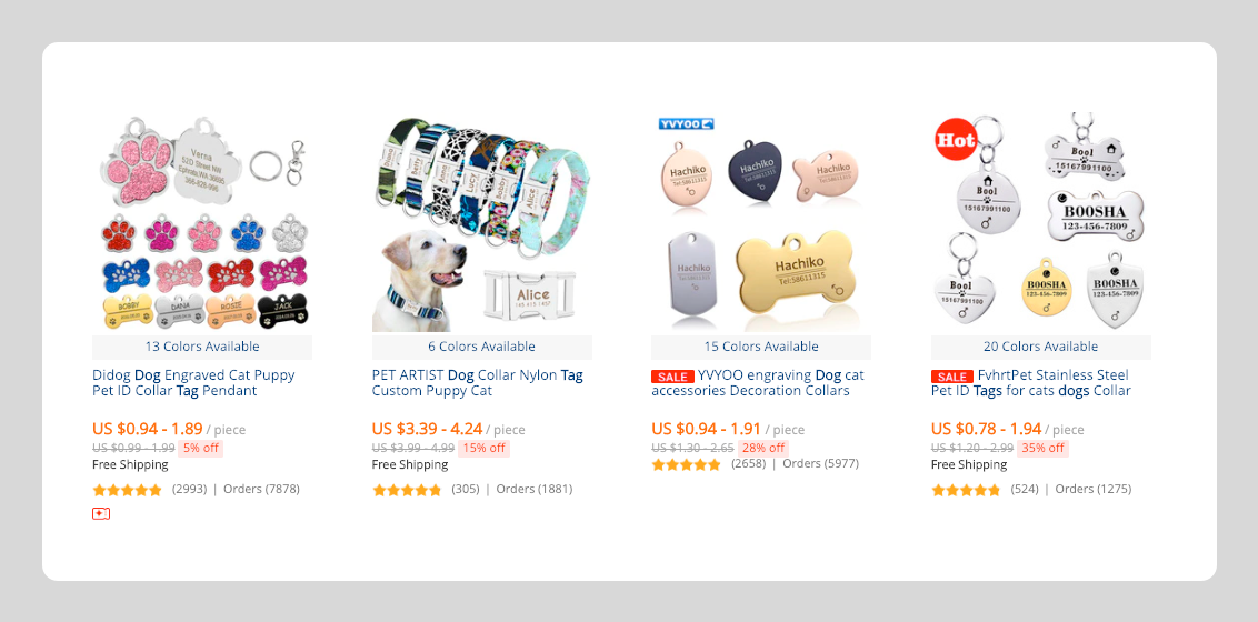 Aliexpress products for dropshipping in the dog niche - aliexpress dropshipping
