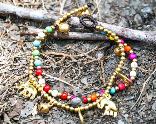 Boho Elephant Bracelet, spocket