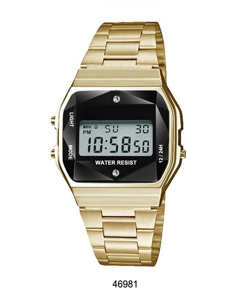 Gold Colored Sports Watch, spocket