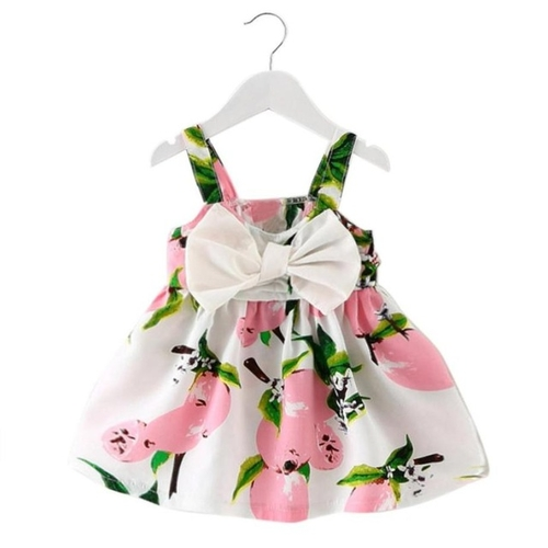 Baby Girl Lemon Printed Sundress