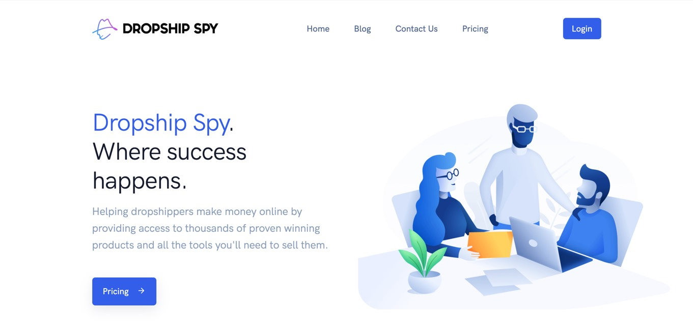 Dropship Spy Niche scraper software for finding trending products to sell