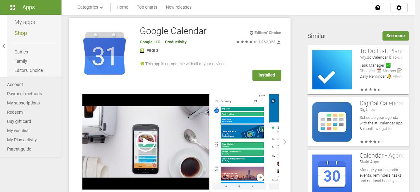 Google Calendar Free Time Management Tools