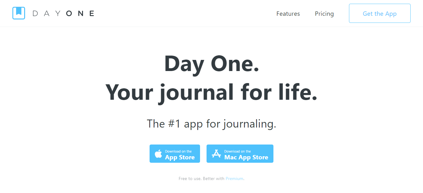 DayOne Best Apps for Mental Health in 2020 for working remotely