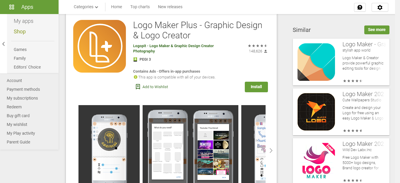 Logo Maker Plus Best Apps to Start Your Business in 2020 for working remotely