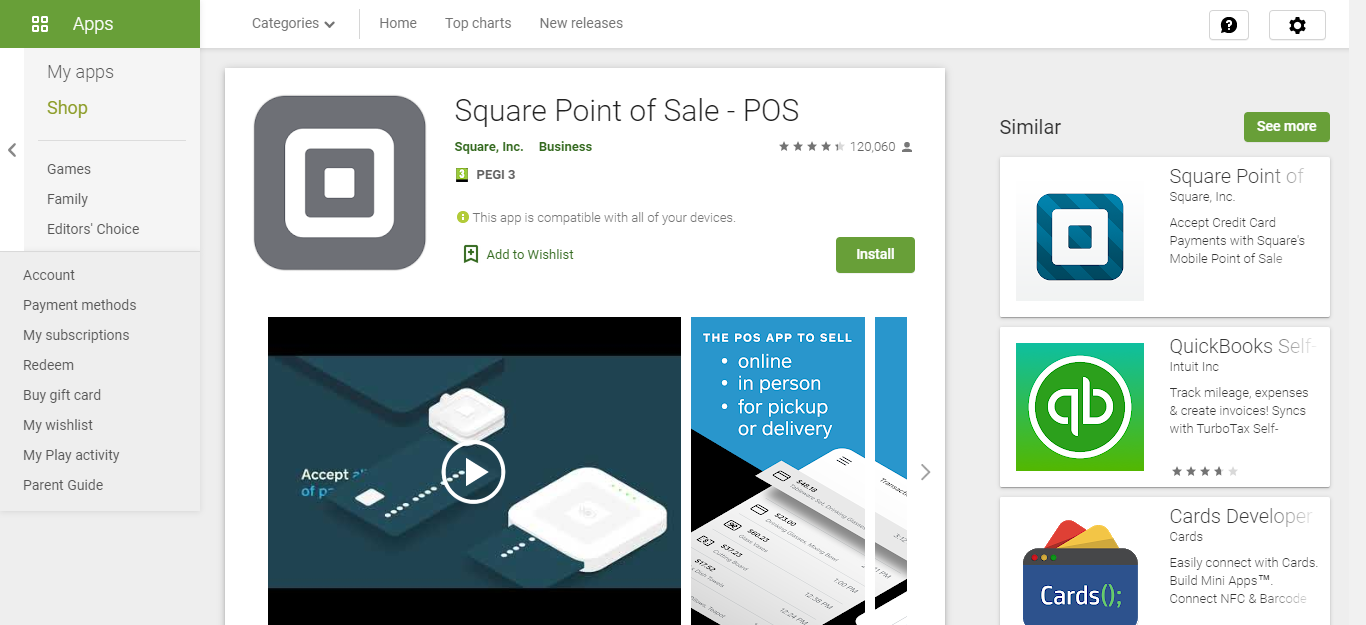 Square Point of Sale Best Apps to Start Your Business for working remotely