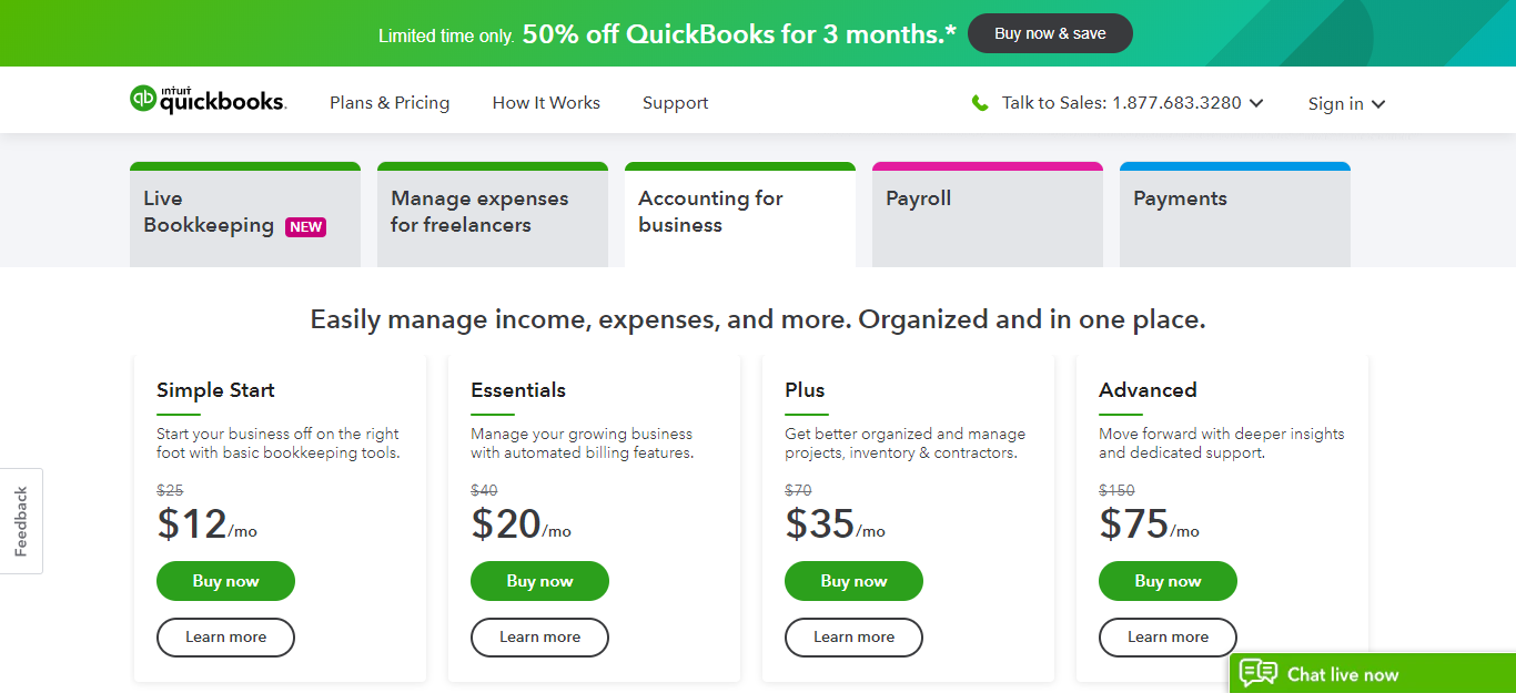Quickbooks Best Apps to Start Your Business for working remotely