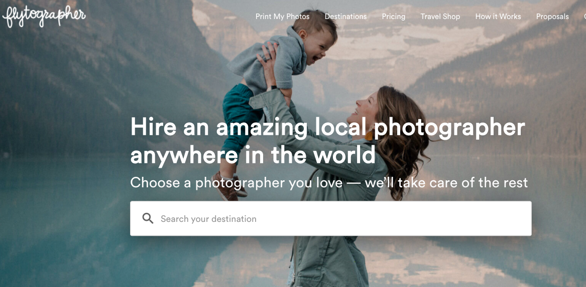 small business ideas: travel photographer