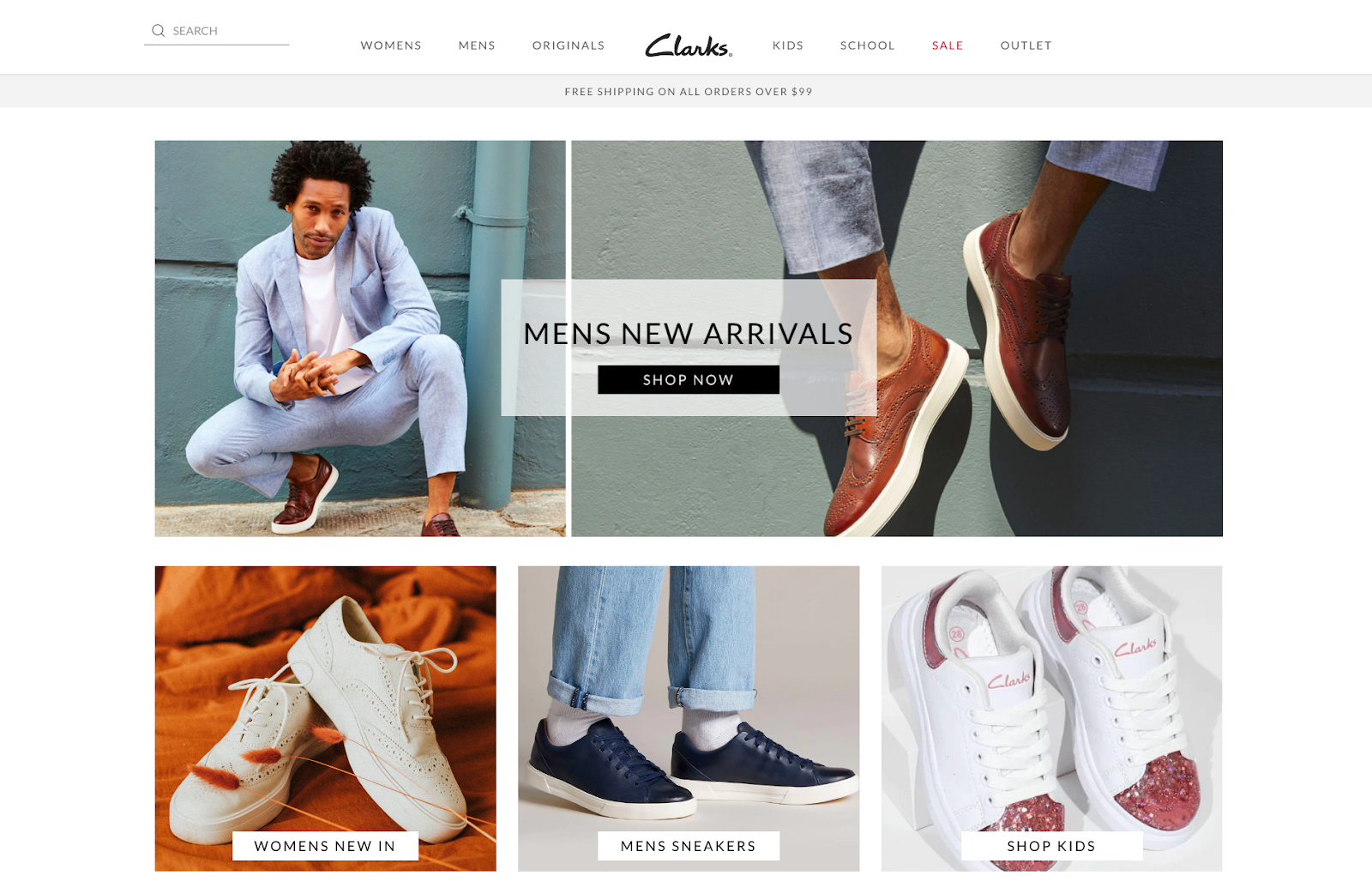 example of ecommerce store theme