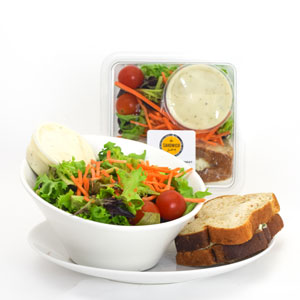Sanwich & Salad Combo