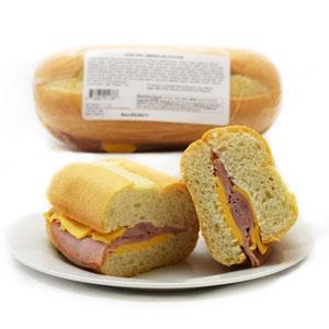 Ham & American Hoagie