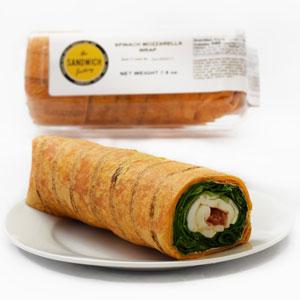 Spinach Mozzarella Wrap