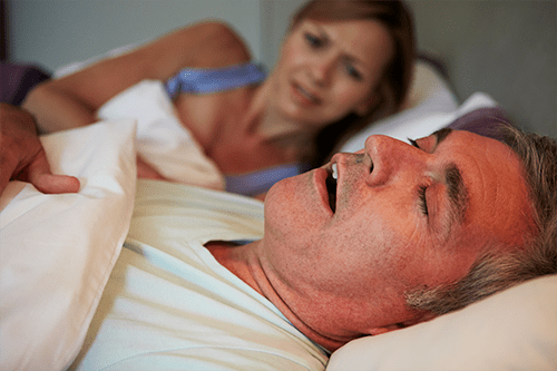 Snoring can indicate further health problems